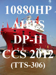 Brand new 10880HP Supply vessel for sale & for charter (TTS-306)