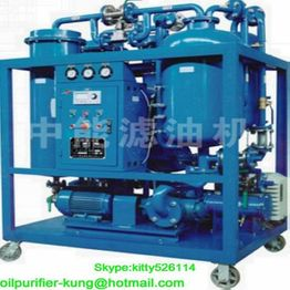 Turbine oil Water separator Filtration machine