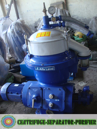 Reconditioned Alfa Laval oil purifier, industrial centrifuge, Alfa Laval oil separator spares, ship oil purifier MAPX-207, MOPX-207