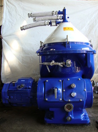 Reconditioned alfa laval oil centrifuge, bio-diesel oil separator, MAPX-309, industrial oil purifier BHAVNAGAR@ALANGSHIPSPARES.COM