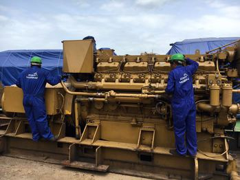 CATERPILLAR D399 MARINE GENERATOR SET