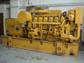 2008 Containerised Caterpillar Engine  type: 3512 with Diesel Oil Day tank and Cables