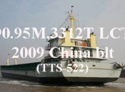 2009 3312 DWT Self-propelled barge (TTS-522)