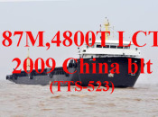 2009 4800 DWT Self-propelled barge (TTS-523)