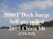 2009 5000 DWCC Self-propelled deck barge