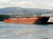1981 OCEAN GOING HOPPER BARGE