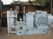 1989 Air Compressor: JP SAUER & SOHN WP150 L-100