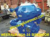 1995 Reconditioned Westfalia Separators OSA35 and OSB35
