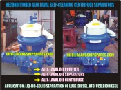 1999 Reconditioned alfa laval oil centrifugal, MOPX-205, MOPX-207, engine oil purifier, diesel oil purifier BHAVNAGAR@ALANGSHIPSPARES.COM