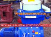 2001 Reconditioned alfa laval oil separator, MOPX-205, MOPX-207,  bio-diesel oil separator, used centrifuge, WVO oil purifier BHAVNAGAR@ALANGSHIPSPARES.COM