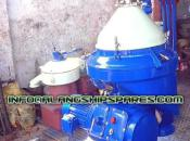 1995 Used and reconditioned Alfa Laval solid bowl and self-cleaning oil purifier  MAPX-207, MOPX-207, FOPX-610