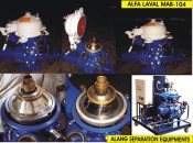 1994 Reconditioned Alfa Laval oil separator, solid bowl separator, ship oil purifier, Industrial centrifuge
