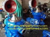 1990 Reconditioned Alfa Laval Self-cleaning oil purifier, ship oil purifier, INFO@ALANGSHIPSPARES.COM